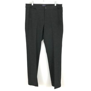 NYDJ pointe stretch knit trouser pants career